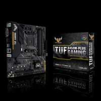 ДЪННА ПЛАТКА ASUS TUF B450M-PLUS GAMING SOCKET AM4, 4XDDR4, AURA SYNC